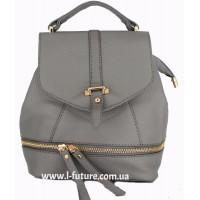 Женская сумка-рюкзак Арт. K-65 Цвет Серый