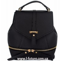Женская сумка-рюкзак Арт. K-65 Цвет Чёрный