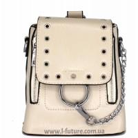 Женская сумка-рюкзак Арт. 6928 Цвет Светлый Беж