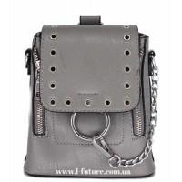 Женская сумка-рюкзак Арт. 6928 Цвет Серый