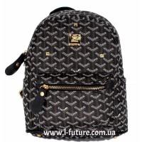 Женский рюкзак Арт. 22  Цвет Чёрный