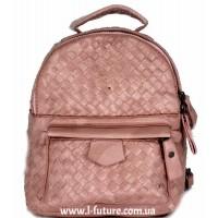 Женская сумка-рюкзак Арт. 1066  Цвет Розовый