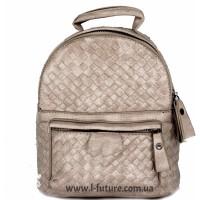Женская сумка-рюкзак Арт. 1066  Цвет Светлый Беж