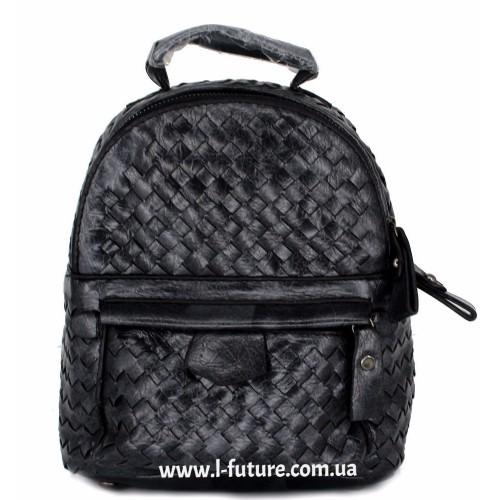 Женская сумка-рюкзак Арт. 1066  Цвет Чёрный ID-1984