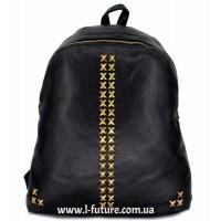Женский рюкзак  Арт. 8184  Цвет Чёрный