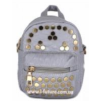 Женская сумка-рюкзак Арт. 8052  Цвет Серый