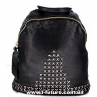 Женский рюкзак  Арт. 868-1  Цвет Чёрный