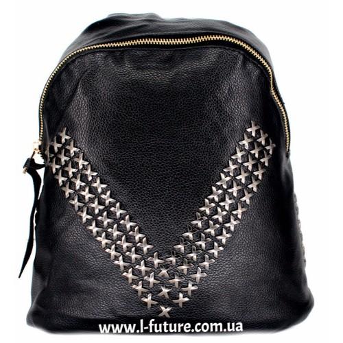 Женский рюкзак  Арт. 868  Цвет Чёрный ID-1995