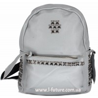 Женский рюкзак  Арт. 864  Цвет Серый