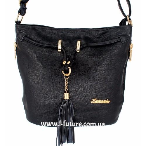 Женская сумка 840-1 Цвет Чёрный ID-2019