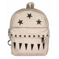 Женская сумка-рюкзак Арт. 3207 Цвет Светлый Беж