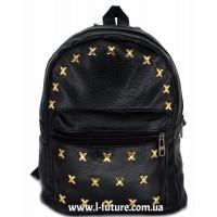Женский рюкзак Арт. К-3  Цвет Чёрный