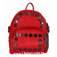 Женская сумка-рюкзак Арт. А-4 Цвет Красный