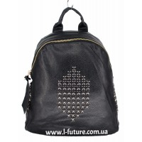 Женский рюкзак  Арт. 868-2  Цвет Чёрный