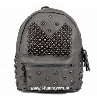 Женский рюкзак Арт. 052  Цвет Серый