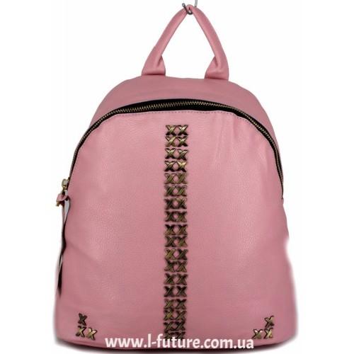Женский рюкзак  Арт. 863  Цвет Розовый ID-2041