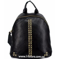 Женский рюкзак  Арт. 863  Цвет Чёрный