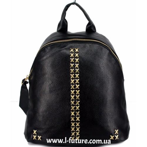 Женский рюкзак  Арт. 863  Цвет Чёрный ID-2042