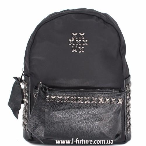 Женский рюкзак  Арт. 864  Цвет Чёрный ID-2044