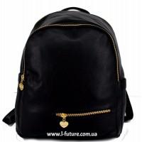 Женский рюкзак  Арт. 50  Цвет Чёрный