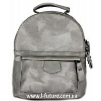Женская сумка-рюкзак Арт. 1065  Цвет Серый