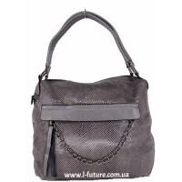 Женская сумка Арт. 1807  Цвет Серый