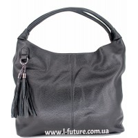 Женская сумка Арт. 1711-2  Цвет Чёрный