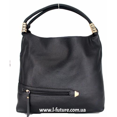 Женская сумка Арт. 1711  Цвет Чёрный