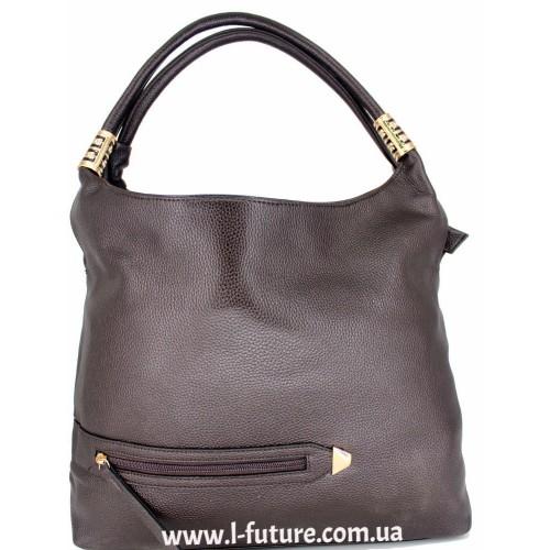Женская сумка Арт. 1711  Цвет Коричневый