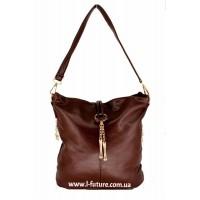 Женская сумка 8618  Цвет Рыжий