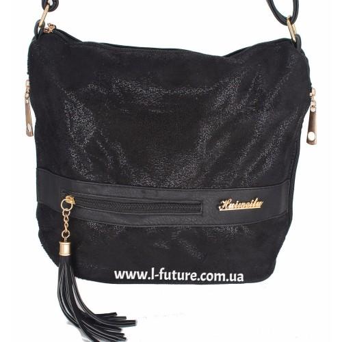 Женская сумка 839-2 Цвет Чёрный