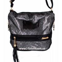 Женская сумка 839-2 Цвет Серебро