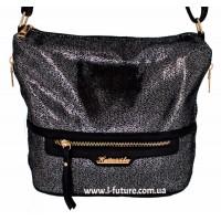 Женская сумка 841-2 Цвет Серебро