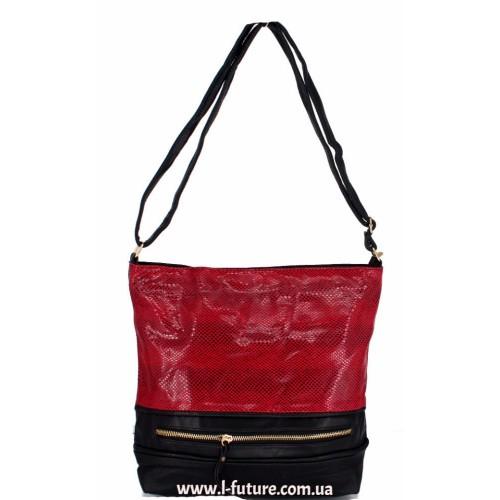 Женская сумка Лазерка Арт. 856 Цвет Красный