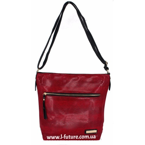 Женская сумка Лазерка арт. 854 Цвет Красный