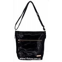 Женская сумка Лазерка арт.854 Цвет Чёрный