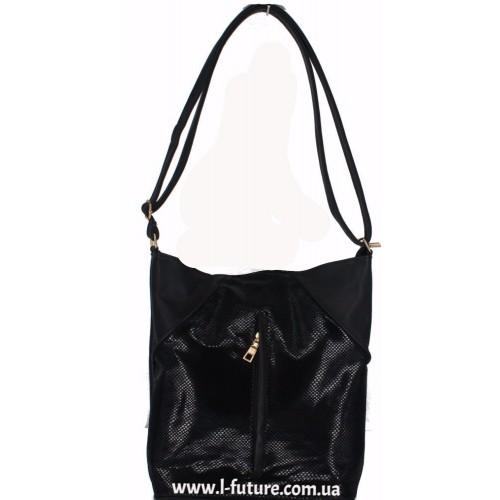 Женская сумка Лазерка арт. 850 Цвет Чёрный