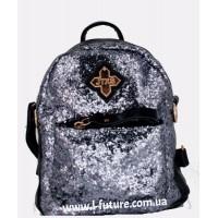 Женская сумка-рюкзак Арт. 201  Цвет Голубой