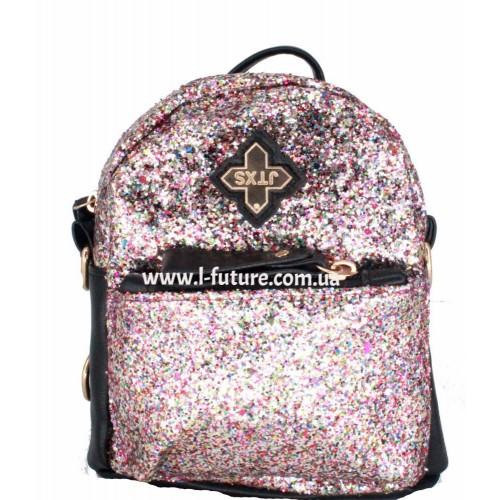 Женская сумка-рюкзак Арт. 201  Цвет Розовый
