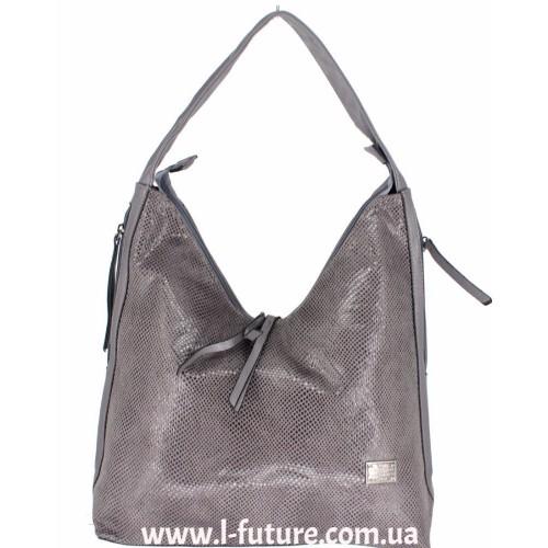 Женская сумка Арт. 1692 Цвет Серый