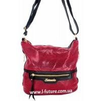 Женская сумка Лазерка Арт. 841 Цвет Красный