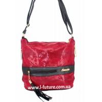 Женская сумка Лазерка Арт. 839 Цвет Красный