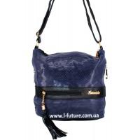 Женская сумка Лазерка Арт. 839 Цвет Синий