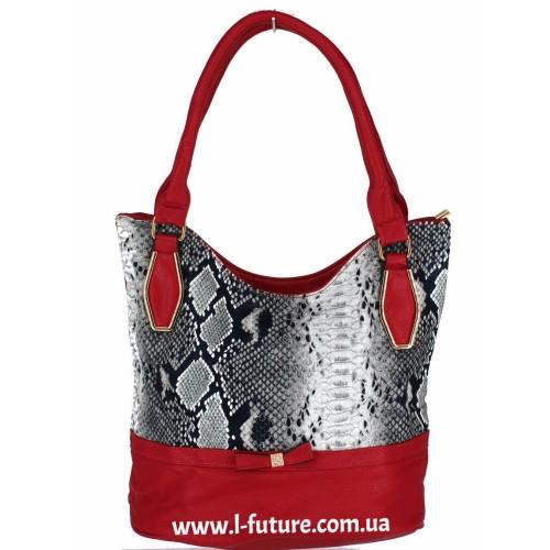 Женская сумка Арт. 1626  Цвет Красный