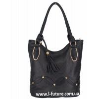 Женская сумка Арт. 1624  Цвет Чёрный
