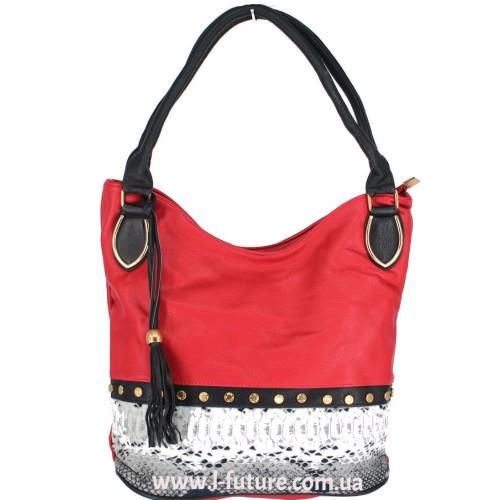 Женская сумка Арт. 1625  Цвет Красный