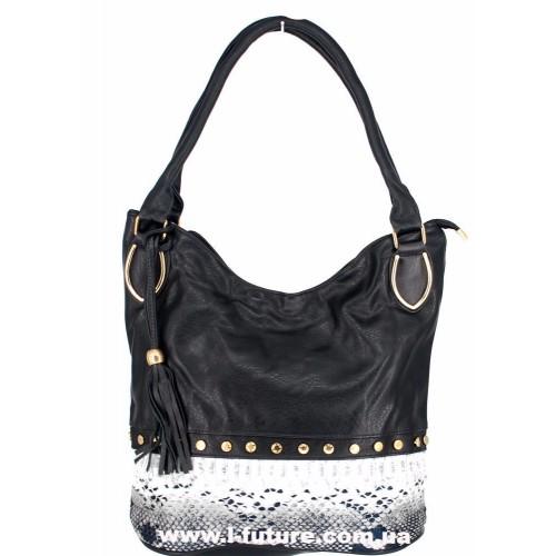 Женская сумка Арт. 1625  Цвет Чёрный