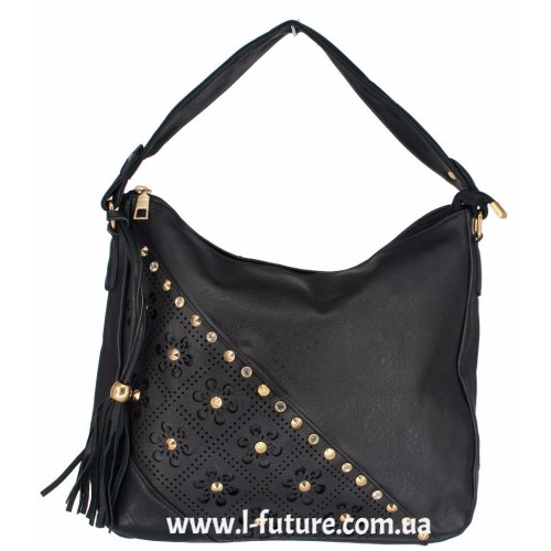 Женская сумка Арт. 1620  Цвет Чёрный
