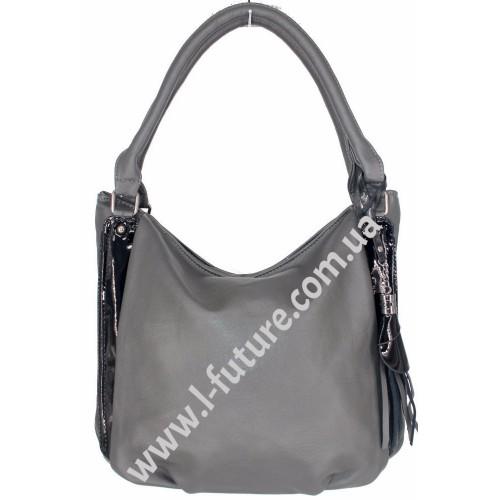 Женская сумка Арт. F-68631  Цвет Серый