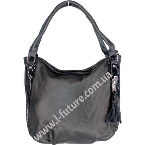 Женская сумка Арт. F-68631  Цвет Чёрный